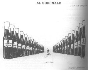 La vignetta incriminata di Manzoni su Einaudi