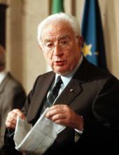 Francesco Cossiga, capo di Stato fra il 1985 e il 1992