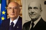 Napolitano e Umberto di Savoia