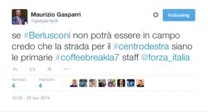 Il tweed di Gasparri apre alle primarie del centrodestra