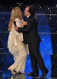 Albano e Romina sul palco dell'Ariston
