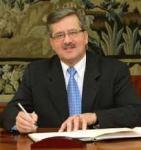 Bronislaw Komorowski, presidente uscente e favorito per le prossime elezioni
