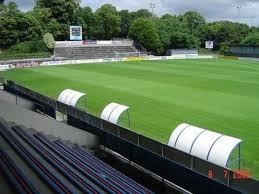 Lo stadio Guy Piriou di Concarneau, teatro della sfida fra la squadra locale e il Guingamp