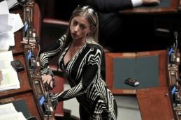 Maria Rosaria Rossi, 43 anni, è la tesoriera di Forza Italia e dirige lo staff personale di Berlusconi