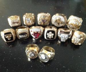I 13 anelli vinti in carriera da Phil Jackson