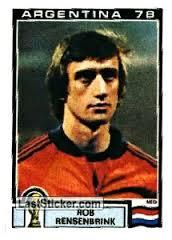 Rob Rensenbrink ai mondiali del 1978